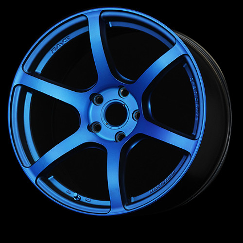 Gram Lights wheel 57C6 18x9.5 +40 (all four) Velvet Marine
