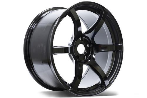 Gram Lights wheel 57C6 18x9.5 +40 (all four) SEMI GLOSS BLACK