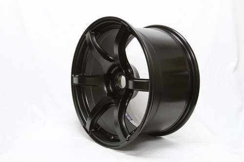 Gram Lights wheel 57C6 18x9.5 +40 (all four) SEMI GLOSS BLACK