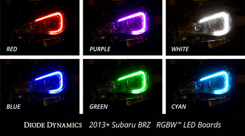BRZ RGBW MOD - BRZ Multicolor LED Boards