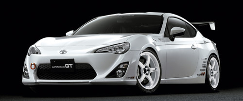 Advan Racing GT -White
