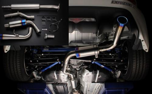 Tomei Expreme Ti Titanium Catback Exhaust Type 60S