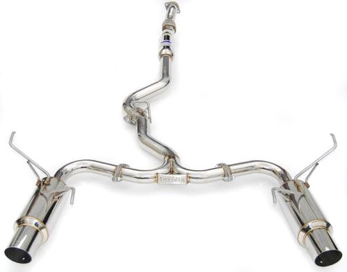 Invidia N1 Cat Back Exhaust Stainless Tip 15+ WRX/STI