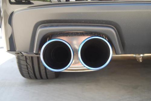 Invidia Q300 Cat Back Exhaust TITANIUM Tip 15+ WRX/STI - HS15STIG3T