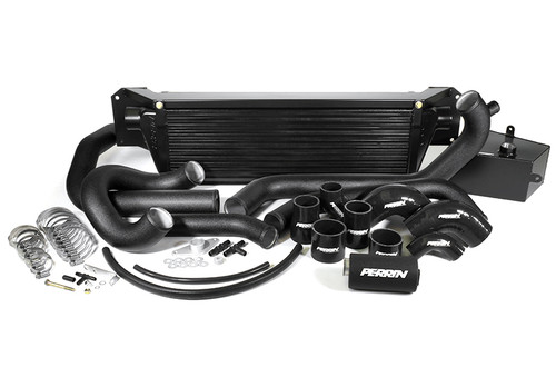 Perrin Front Mount Intercooler - 2015+ STI (Black Core)