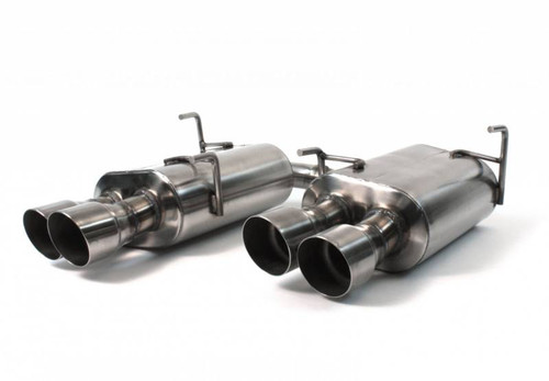 Perrin Catback Exhaust (Non-Resonated) - 2015+ WRX/STI