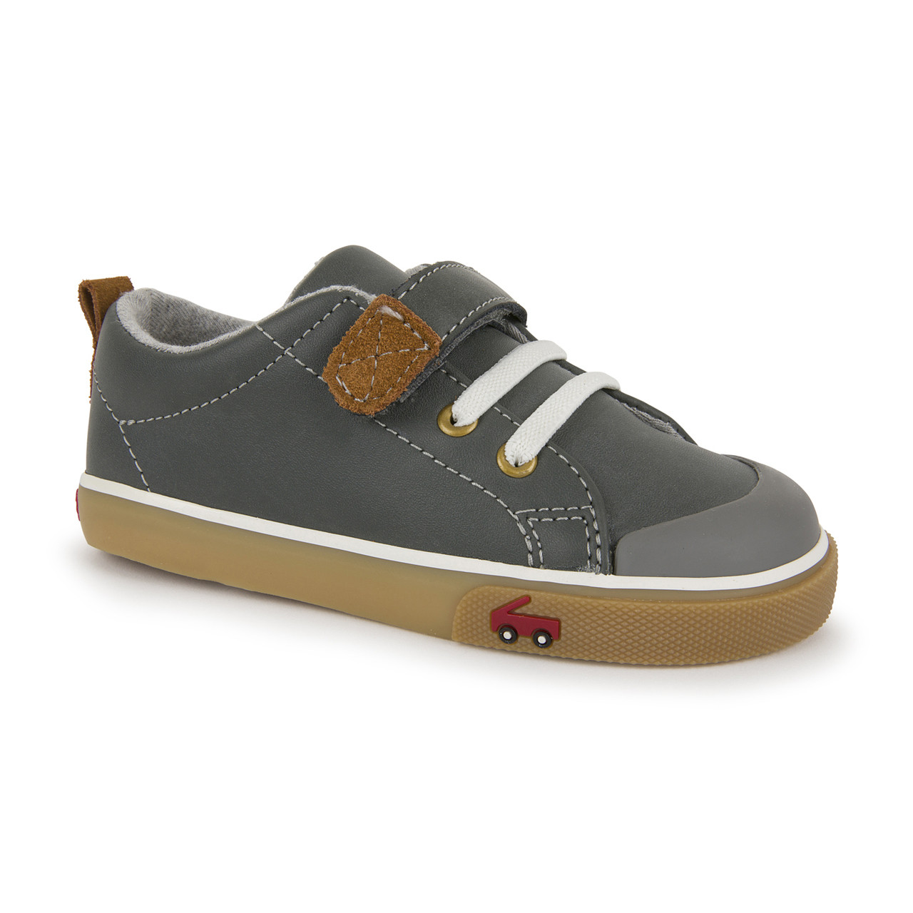 Details about  /New SEE KAI RUN Stevie II Boys Brown Leather Sneakers Toddler 7T US 23 EUR