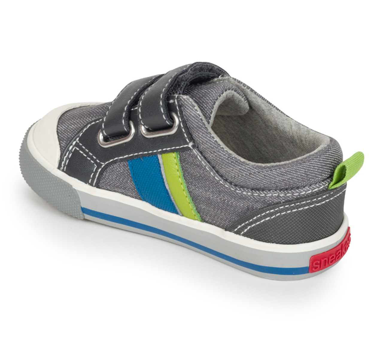 Boy/'s Russell Casual Sneaker for Toddlers and Kids See Kai Run