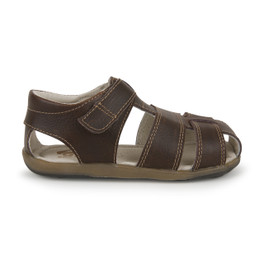 Right Side view of Jude IV Brown sandal