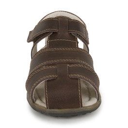 Front view of Jude IV Brown sandal