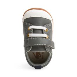 Stevie II (First Walker) Gray Leather
