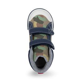 Top-down view of Matty Camo shoe