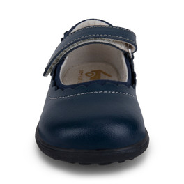 Front view of Jane II Navy Shoe