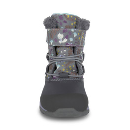 Front view of Gilman Waterproof/Insulated Gray Woodland boot