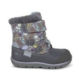 Right Side view of Gilman Waterproof/Insulated Gray Woodland boot