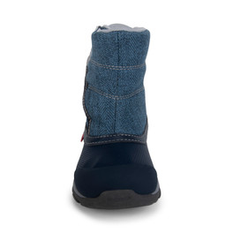 Front view of Baker Waterproof/Insulated Blue boot