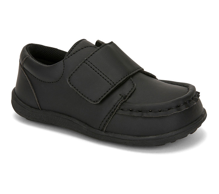 Front-Right Side view of Ross II Black shoe