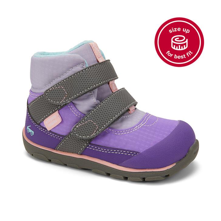 Atlas Waterproof/Insulated Purple/Gray