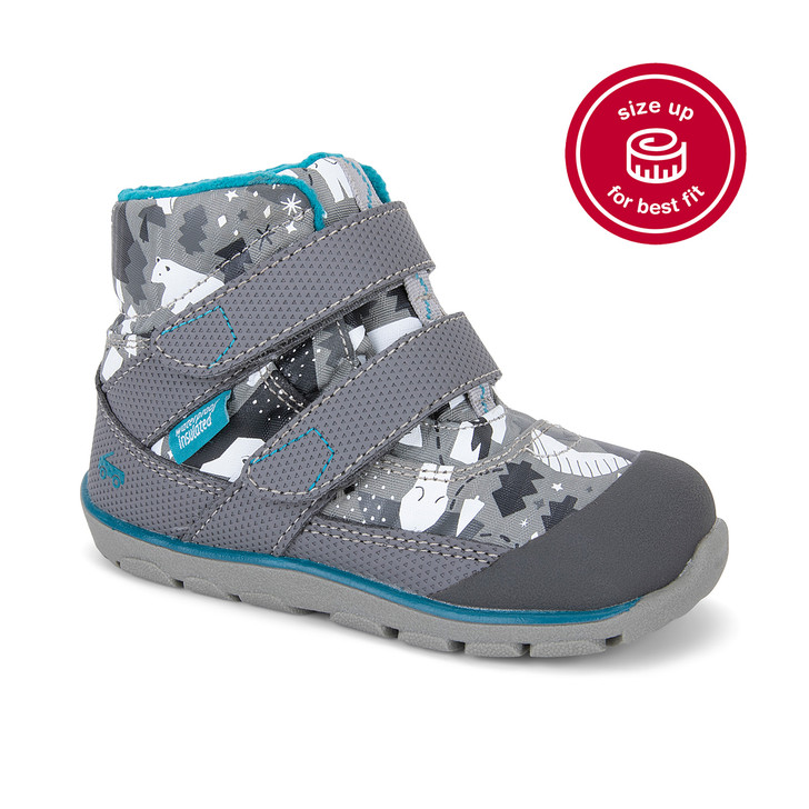 Atlas Waterproof/Insulated Gray/Snowscape
