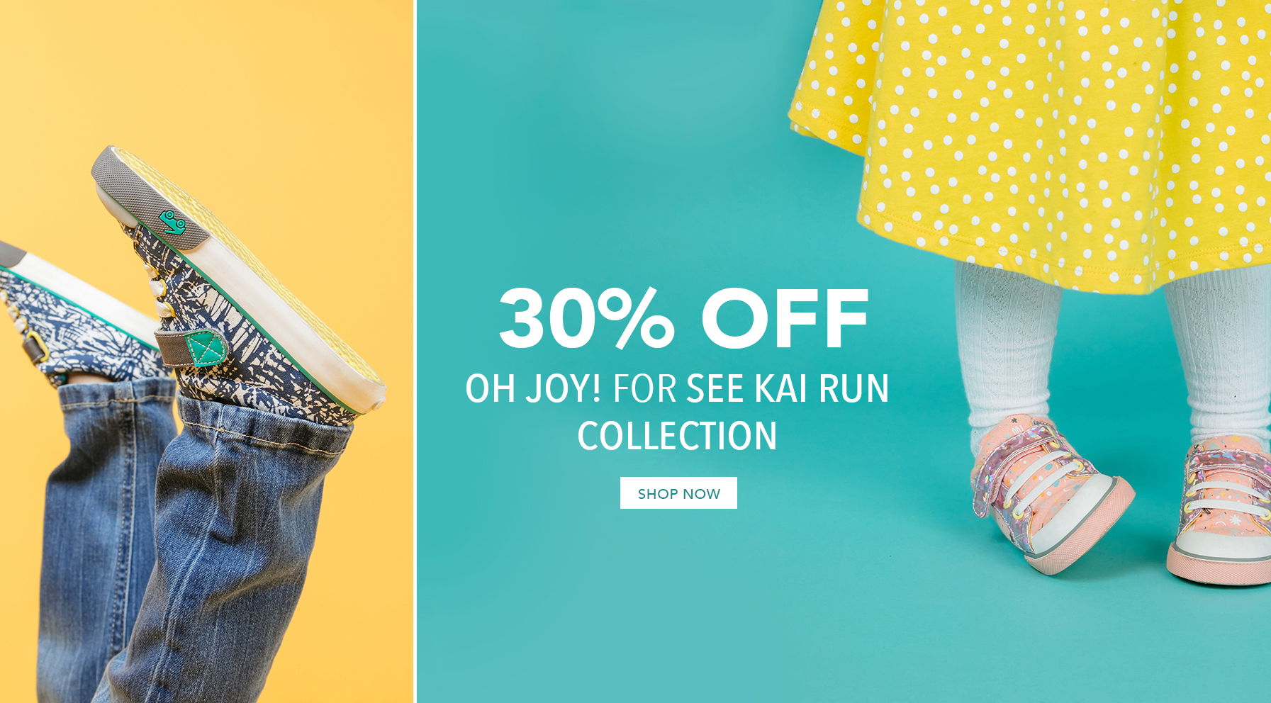 30% off Oh Joy! for See Kai Run collection. Shop Now.