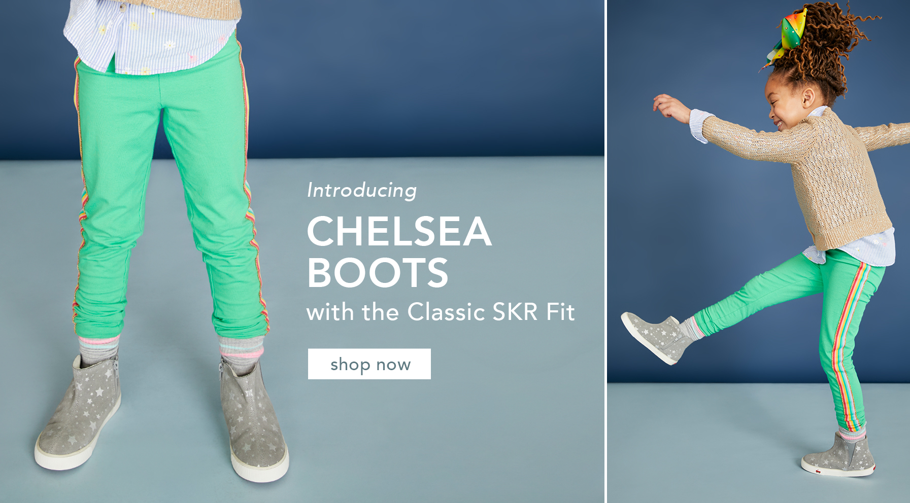 Select Chelsea boot styles available now!