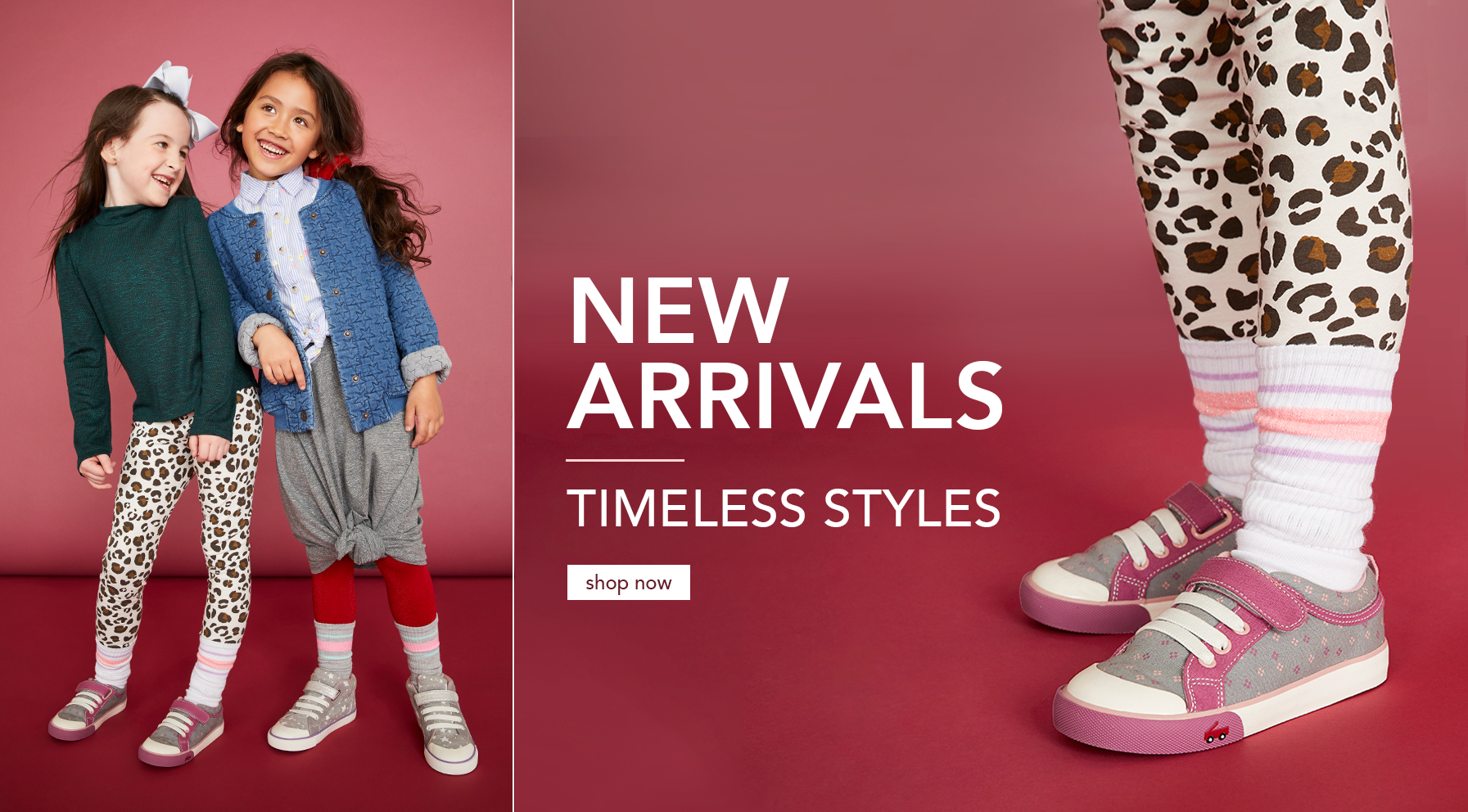 New Arrivals. Timeless Styles. Shop Now