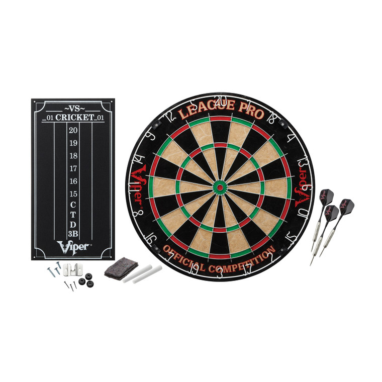 Viper League Pro Sisal Dartboard