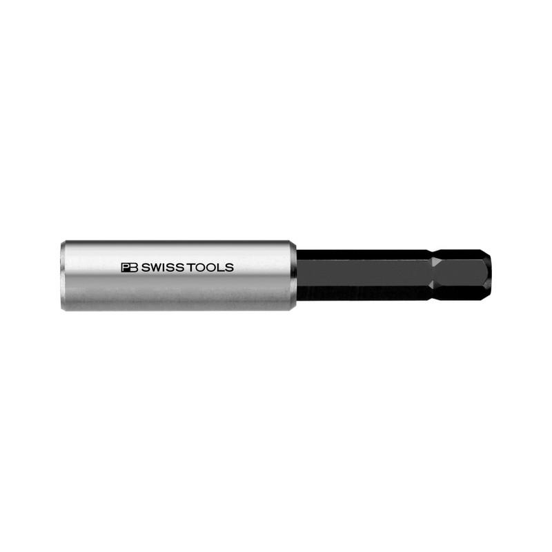 "PB Swiss Magnetic Bit Holder Extension for 1/4"" C6 PrecisionBits, 60mm (PB 451.M)"