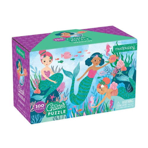 Glitter Puzzle Mermaids