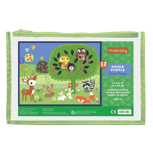 Pouch Puzzle Forest Friends