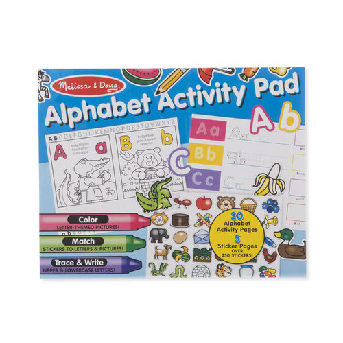 Activity Pad Alphabet