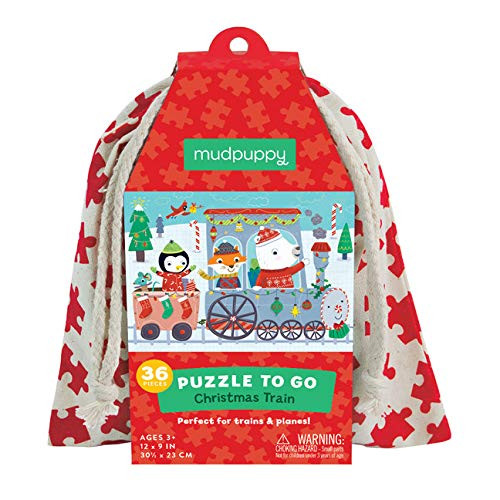 Puzzle to Go Christmas Train