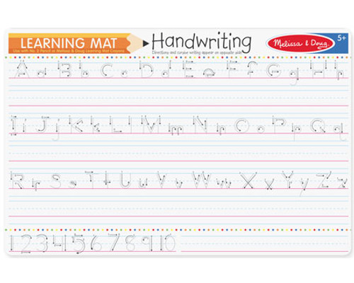 Learning Mat Handwriting