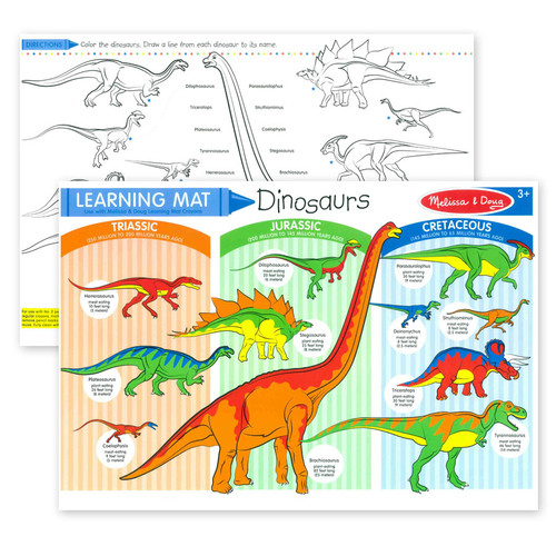 Learning Mat Dinosaurs