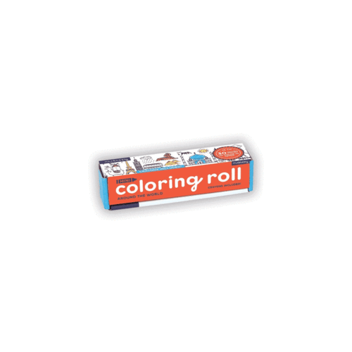 Mini Coloring Roll Around the World