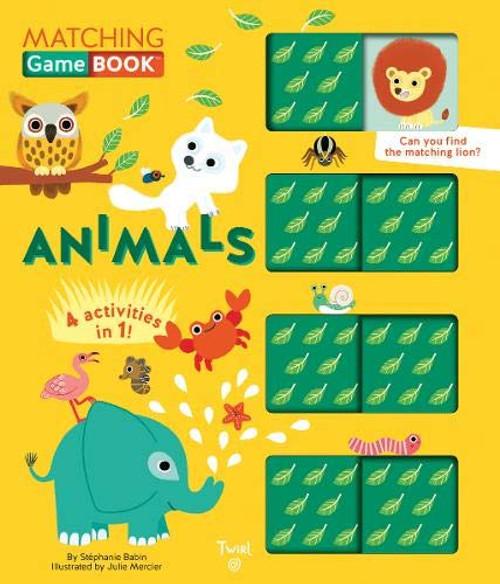 Matching Game Book Animals