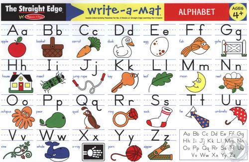 Learning Mat Alphabet