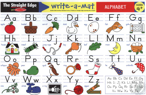 Learning Mat Alphabet