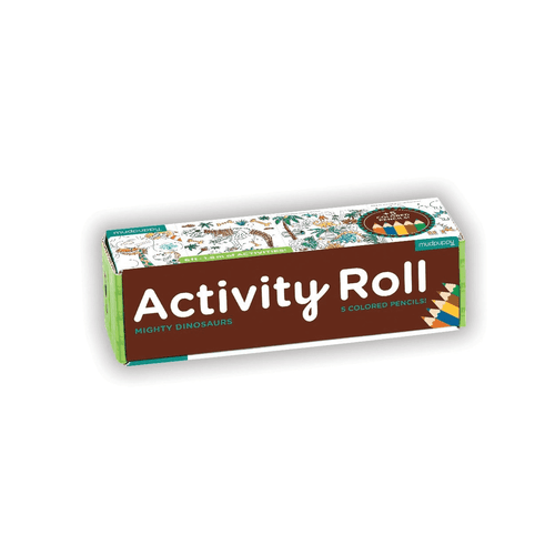 Activity Roll Mighty Dinosaurs