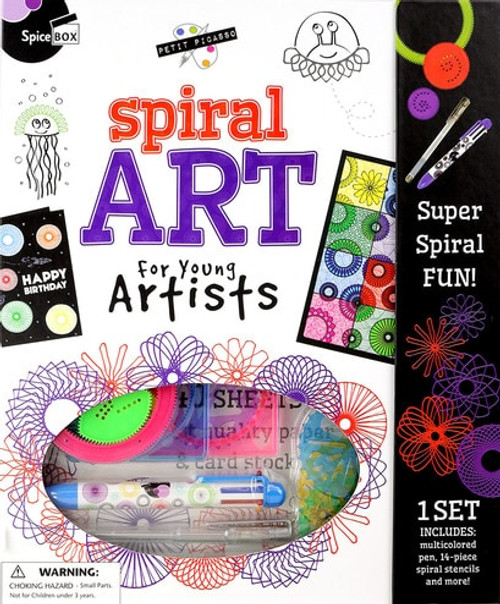 Petit Picasso Spiral Art
