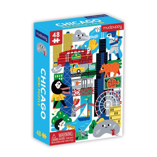 48 Piece Puzzle Chicago