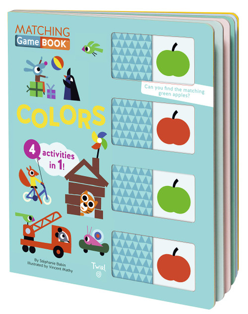 Matching Game Book Colors