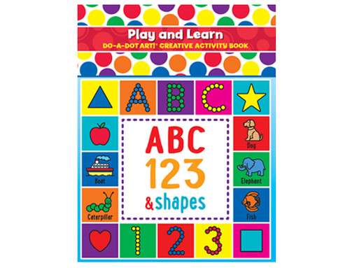 Play and Learn ABC 123 & Shapes Activity Book