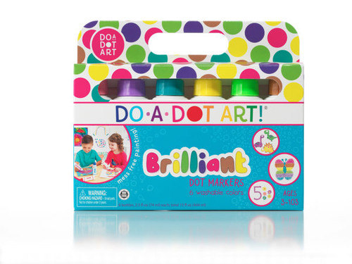 Brilliant Dot Markers 6-Pack