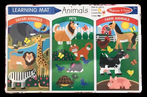 Learning Mat Animals