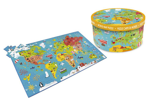 150 Pieces World Map Puzzle