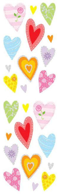 Delightful Hearts Stickers