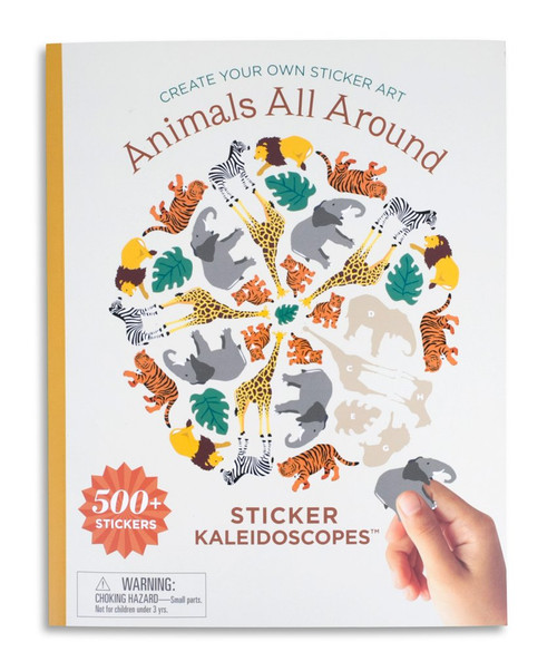 Sticker Kaleidoscopes Animals All Around