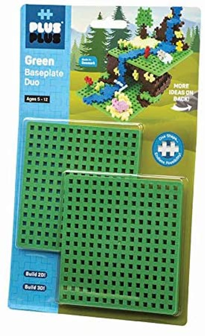 Baseplate Duo Green