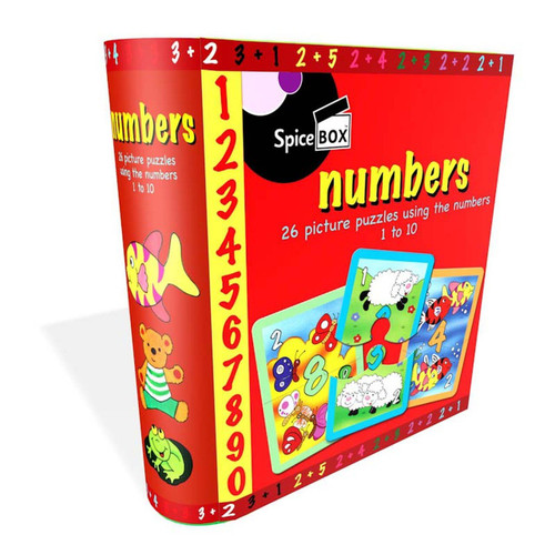 Numbers: Picture Puzzles 1 to 10